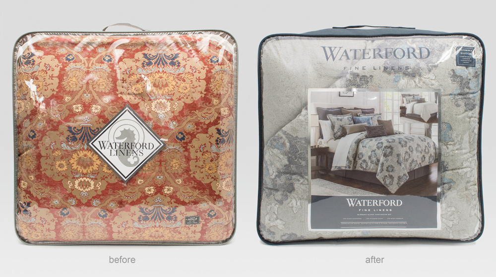 Waterford Bedding Charlize Grey Bedding Collection